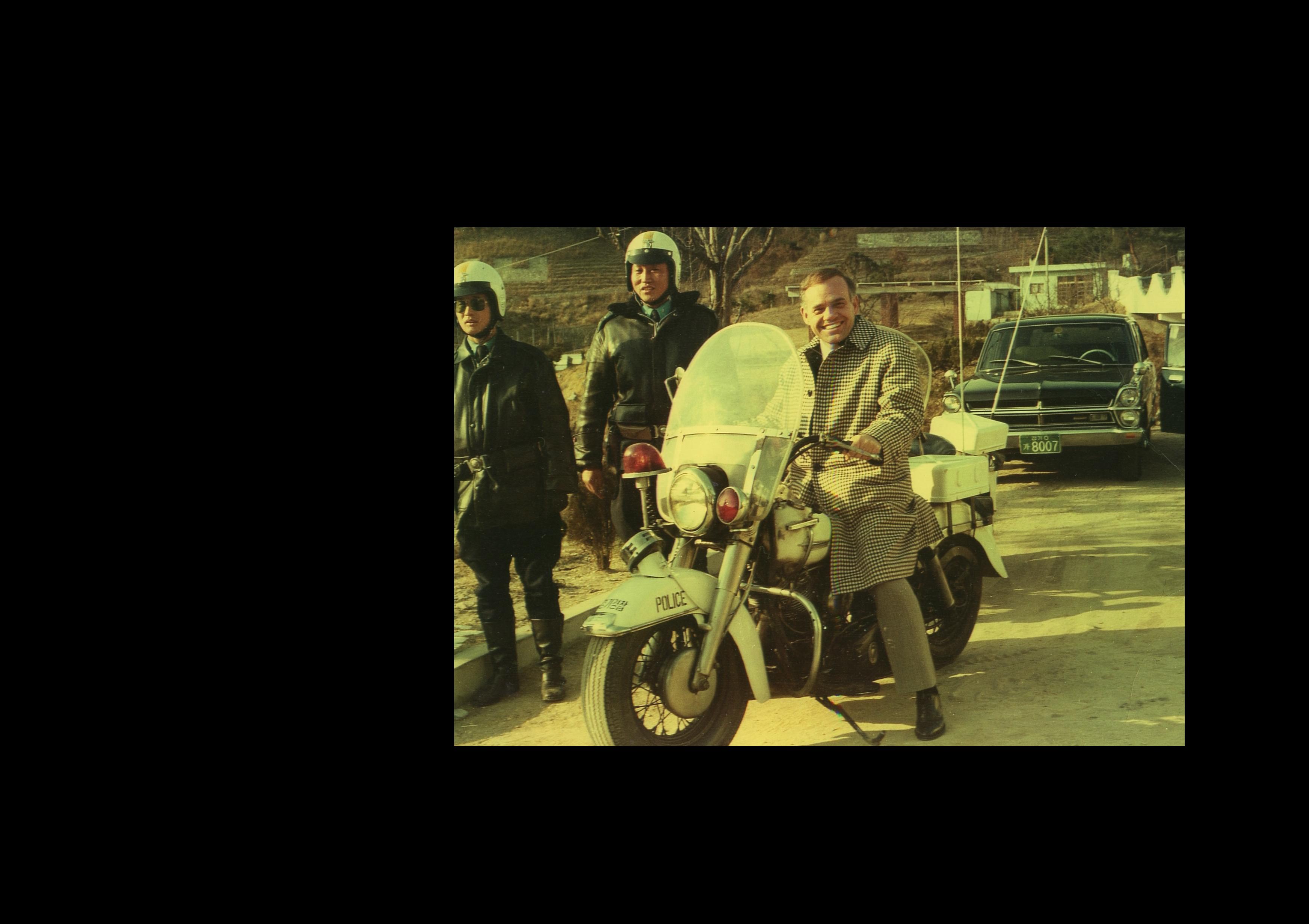 Lee's Dad in Korea 1975
