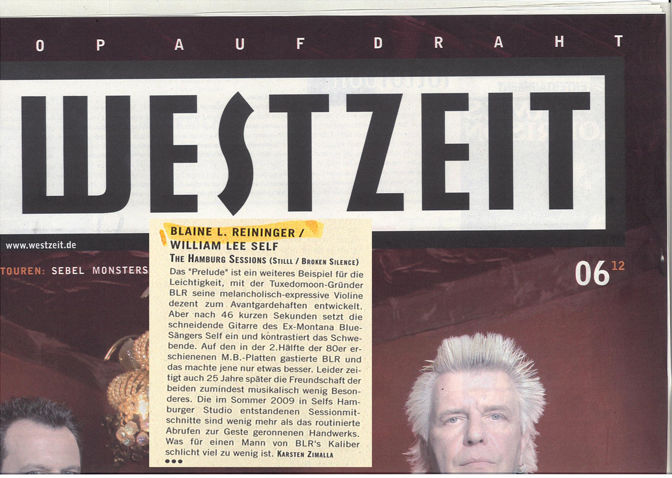 westzeit_06.12 - Blaine L. Reininger