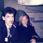 1985 - Blaine and Lee Backstage in Oslo