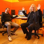 Lars & Lee at Master & Servant Main Control Room April 24 2013