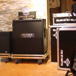 Lee's Vox TB18:Mesa Boogie TA15:modified Fender Jazzmaster