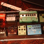 Lee's pedalboard march 2014